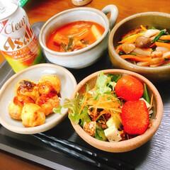 ホームパーティ/韓国料理/美味しい/ごはん/おうちごはん ホームパーティのメニューの韓国料理のトッ…