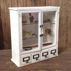 100均/DIY/飾り棚/棚/引き出し/枡 100均&200円商品と杉板でドクターキ…