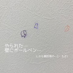 オススメアイテム/おすすめ商品/ガンジーインキ消/こどものイタズラ/子どものいる暮らし/壁の落書き/... 3歳次女がボールペンで壁に落書き… 慌て…