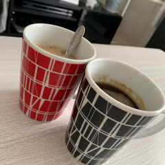 フィンレイソン/ブレイクタイム/マグカップ/キッチン雑貨/おすすめアイテム/暮らし おうちじかん。 コーヒー飲みながらのんび…