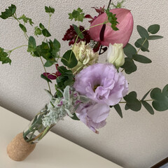 DANTON/母の日ギフト/母の日 母の日 娘からのプレゼント🎁 お花とTシ…(3枚目)