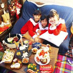 クリスマス/パーティー/ベランダ/100均/チョコフォンデュ/チーズフォンデュ/... ベランダでクリスマスパーティーの時の写真…