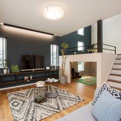 スキップフロア/小上がり和室/中二階/リビング/一戸建て/家づくり/... 『スキップフロアのある家』 スキップフロ…