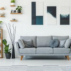 ソファ/家具/インテリア/椅子 /リビング/新生活/... 新生活がスタートし、生活スタイルが変わる…
