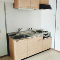 キッチン/シート/リメイク/リフォーム 低予算でキッチンの扉をリメイク!