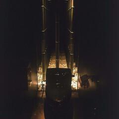 和食 ダイニング トイレ 無限に広がる竹林とマーガレット畑。ハーフ…(1枚目)