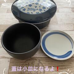 東洋セラミックス 有田焼 セラミックおひつ 一膳 花うさぎ(飯碗)を使ったクチコミ「ウチの炊飯器は、とても美味しくご飯🍚炊け…」(2枚目)