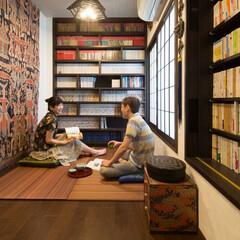 リフォーム/リノベーション/リノベ/書庫/畳/集う/... 《書庫の中の畳コーナー》 大切にしている…