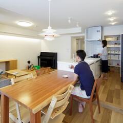 リビング/ダイニング/キッチン/LDK/オープンキッチン/壁撤去/... 《LDK》 洋室の壁を撤去し、独立してい…