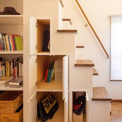 階段下収納/階段/収納/リフォーム/リノベーション 階段下収納 階段下のスペースも収納として…