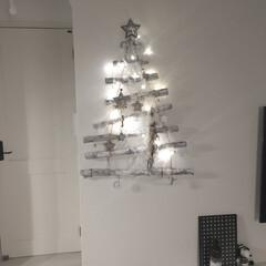 新築/流木ツリー/クリスマス/DIY/雑貨/100均/...