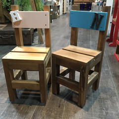 DIY/DIY女子/DIY女子部/クラフト/ハンドメイド/日曜大工 ミニチェア(1枚目)