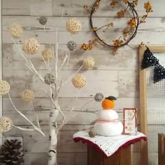 編み物/鏡餅/お正月2020/DIY/ニトリ お正月らしい飾りと言ったらこれだけ💦 何…