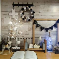 リミアの冬暮らし/クリスマスディスプレイ/ニトリ/LED白樺ツリー/interior クリスマスディスプレイ❄☃🎅🎁💕🎄🎂✨ …