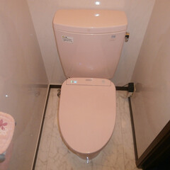 トイレ/トイレリフォーム/ウォシュレット/ウォシュレット交換/TOTO/トートー/... 東京都足立区のウォシュレット交換施工事例…