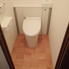 トイレ/トイレリフォーム/LIXIL/INAX/リクシル/イナックス/... 東京都墨田区のトイレリフォーム事例です。…