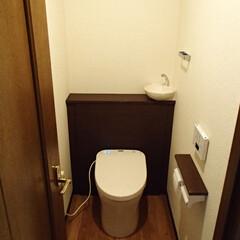 トイレ/トイレリフォーム/TOTO/トートー/レストパル/白/... 東京都世田谷区のトイレリフォーム事例です…