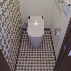 トイレ/トイレリフォーム/Panasonic/パナソニック/アラウーノ/タンクレス/... 東京都渋谷区のトイレリフォーム事例です。…