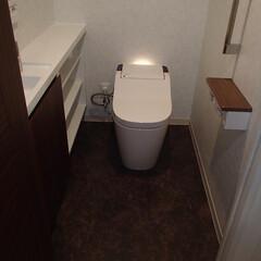 トイレ/トイレリフォーム/Panasonic/パナソニック/アラウーノ/タンクレス/... 大阪府大阪市のトイレリフォーム事例です。…
