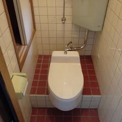 トイレ/トイレリフォーム/和式トイレ/TOTO/トートー/白/... 神奈川県横須賀市のトイレリフォーム事例で…