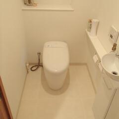 トイレ/トイレリフォーム/TOTO/トートー/ネオレスト/タンクレス/... 千葉県千葉市のトイレリフォーム事例です。…