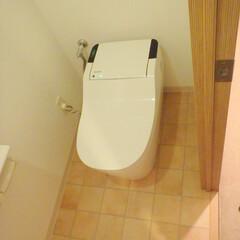 トイレ/トイレリフォーム/ウォシュレット/Panasonic/パナソニック/アラウーノ/... 東京都品川区のトイレリフォーム事例です。…