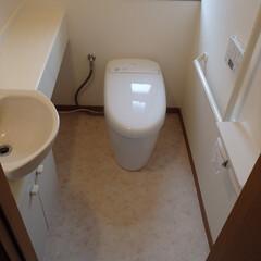 トイレ/トイレリフォーム/TOTO/トートー/ネオレスト/タンクレス/... 神奈川県相模原市のトイレリフォーム事例で…