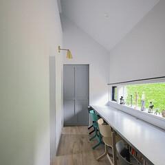 子供部屋/建築/建築家/建築士/設計士/建築家と建てる家/... 家族揃って勉強できるスペース
