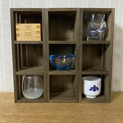 コレクションボックスdiy/飾り棚ディスプレイ/飾り棚DIY/飾り棚/100均DIY/ウッドBOX/... ダイソーの木箱を引っ付けるだけ超絶簡単コ…