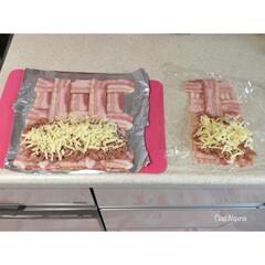 肉/肉肉肉巻き/家事ヤロウ/ウインナー/ベーコン/豚ひき肉/... 家事ヤロウ  の、 肉肉肉巻き!   作…
