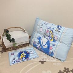 枕カバー/ディズニー/レース/リメイク/タオル/縫う/... 枕カバーをずっと探していたけど 見つけら…