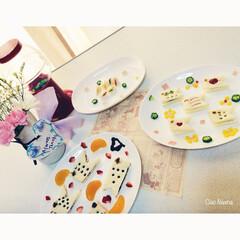 鯉のぼり/サンドイッチ/可愛い/チョコ/野菜/カラフル/... サンドイッチ違うバージョン。 中に挟むパ…(1枚目)
