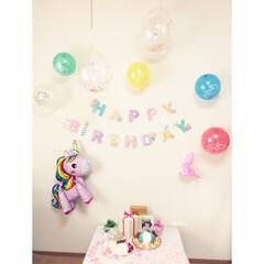 バースデーケーキ/手作り/ジャスミン/ディズニー/お誕生日ディスプレイ/プリンセス/... お誕生日会! 今年はジャスミンをリクエス…