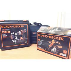 ブラック&デッカー/DIY/丸ノコ/コードレス/ジグソー/サンダー/... きゃーーーー!!!!!  買っちゃった …