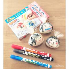 おにぎり/おむすび/サランラップ/サランラップに書けるペン/赤/青/... サランラップに書けるペンが 安く売ってい…