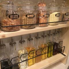 100均/キッチン/カフェ 調味料を入れ替えました╰(*´︶`*)╯♡