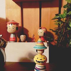 こけし/ハロウィン/和洋折衷/郷土玩具 期間限定 秋のこけし蔵出し。 2018/…