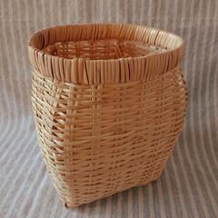 ファッション小物/ウエストポーチ/カバン/竹細工 仕事用にスズタケのツボケ入手。 安価なざ…(2枚目)