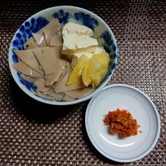 郷土料理/秋/おうちごはん/フード/そば/蕎麦 そばかっけ ニンニク味噌で食べる。  こ…