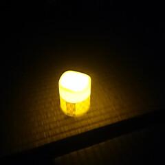 防災/停電 あちこちにぶら下げている懐中電灯と蓄光シ…(2枚目)