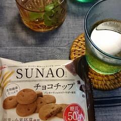 抹茶/チョコチップ/発酵バター/糖質オフ/SUNAO/グルメ/... SUNAOクッキー!!!  どちらかで見…