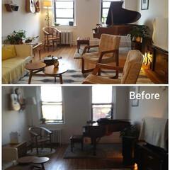 風水インテリア/風水/インテリアコーディネート/ビンテージ家具/ニューヨーク/アメリカ ニューヨーク・Before and Af…