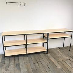 キッチンシェルフ/キッチン棚/キッチンラック/オーダーキッチンラック/オーダーキッチンシェルフ/オーダー家具/... 新築でキッチンシェルフを製作させて頂きま…