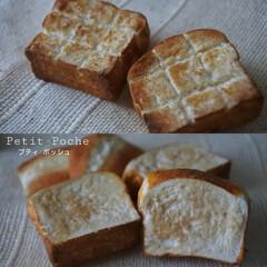 プティポッシュ/シンプル/パン/粘土細工/粘土/樹脂粘土/... プティポッシュの厚切りトーストが焼き上が…(2枚目)