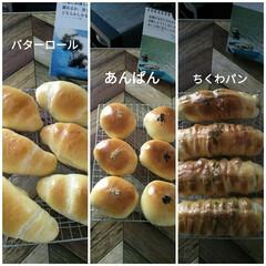 パン屋さんどんぐり/北海道発祥ちくわパン/ちくわパン/あんばん/バターロール/パン作りも趣味/...  またまたパン作りです🤣  毎月顔剃りの…(1枚目)