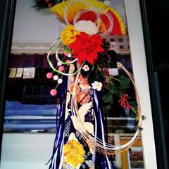水引/しめ縄/お正月飾り/私の手作り 先ほどの続きです😅  去年、職場や飲食店…(5枚目)