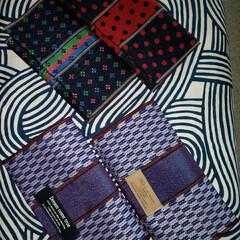 袱紗/財布/畳縁/雑貨/ハンドメイド/LIMIA手作りし隊  おはようございます☺️  昨日の財布な…