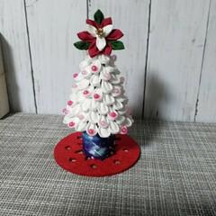 綺麗な皇后様💓/クリスマス飾りつけ/つまみ細工のツリー✨🎄✨/お気に入りの場所❣️/クリスマス  クリスマスバージョン🎶 飾りつけできま…(2枚目)