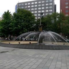 夫婦初めてのビアガーデン/札幌大通りビアガーデン/ビアガーデン/至福のひととき/おでかけ きょうは札幌地下歩道空間でハンドメイド出…(7枚目)