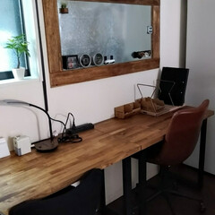 机/書斎/作業部屋/ダイソー/ハンドメイド/収納/... 壁に、色々、貼り付けたくて、マグネット収…(10枚目)